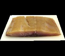 Weißlachsfilet mit Haut, kaltgeräuchert, 250g