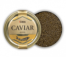 Störkaviar AMUR ROYAL, Aquakultur, 100g, Dose