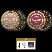 Set: Kaluga + Kaluga Gold je 50g Dose in einer Lemberg Kühltasche