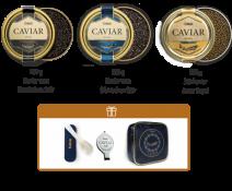 3 Kaviar Delikatessen in einer Lemberg Kühltasche, 3 x 100g