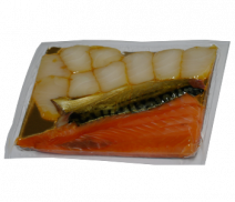 Fisch-SET, 3 Sorten kalt geräucherte Filets, 300g