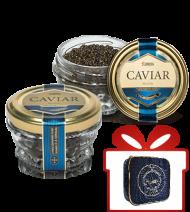 SET, Kaviar vom Sibirischen Stör, Aquakultur, 2x50g + 1 x  Kühltasche klein