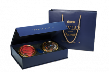 Golden Collection SET Kaluga & Osietra Kaviar, 2 х 125g