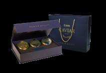 3 Kaviar Delikatessen in einer Geschenkbox Lemberg, 3 x 50g