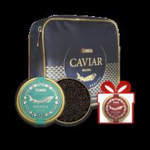 Set: Kaviar Beluga & Kaluga in einer Lemberg Kühltasche