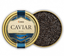 Kaviar vom Sibirischen Stör, Aquakultur, 30g , Dose