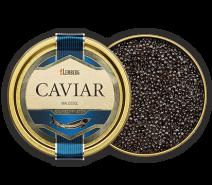 Kaviar vom Sibirischen Stör, Aquakultur, 125g , Dose
