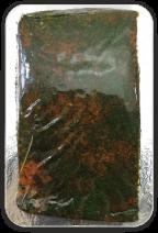 Lachsfilet mit Haut, gebeizt, mit Dill, 250g