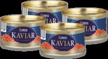 Rotlachs-Kaviar, 4 x 75g