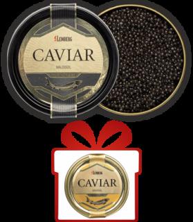 SET: Zwei Sorten Störkaviar