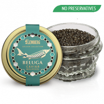 BELUGA Caviar, NO PRESERVATIVES, Aquaculture, 50g