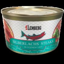 Silberlachs Steaks in eigenem Saft, 213g