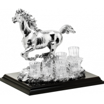 "Vodka-Set ""Mustang"", 35cm"