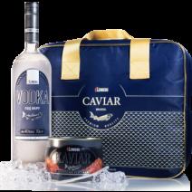 Gorbuscha - Lachskaviar, PLATINUM & Wodka in einer Kühltasche Lemberg