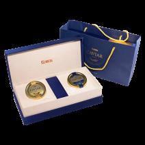 Geschenk-SET: Kaviar vom sibirischen Stör & Störkaviar Amur Royal