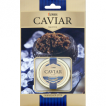 Kaviar vom Sibirischen Stör, Aquakultur, Display, 50g